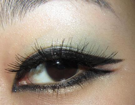 咔咔眼妆 韩式猫眼舞台妆