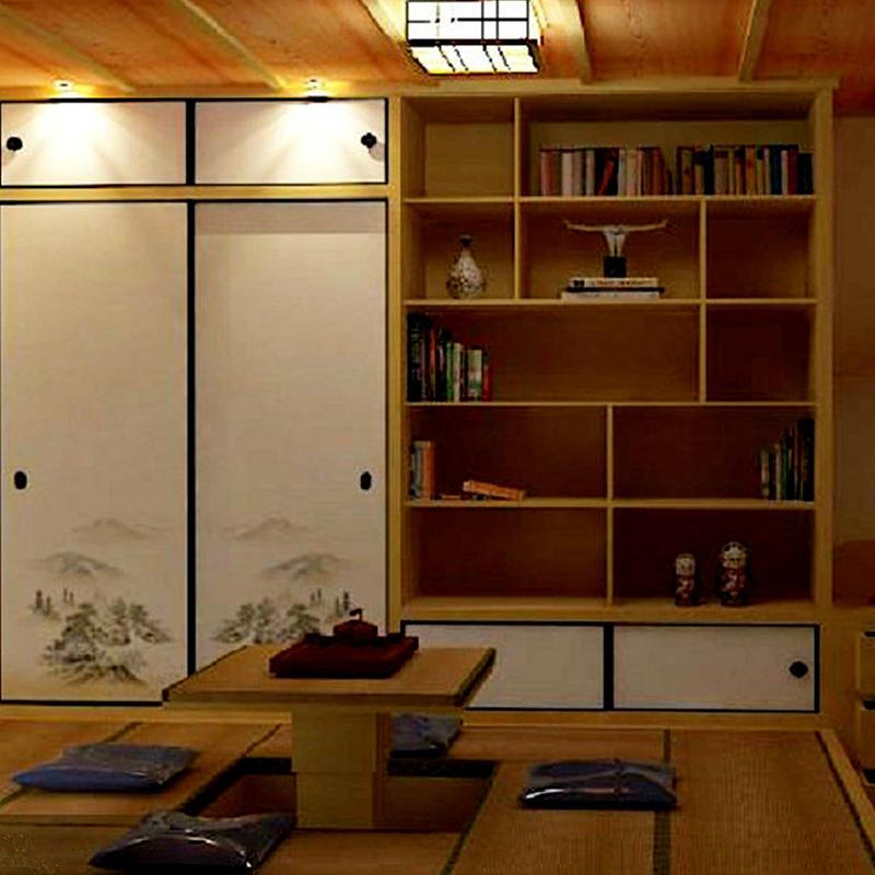 榻榻米衣柜榻榻米书柜榻榻米和室实木衣柜踏踏米矮柜定制