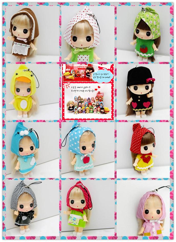 迷糊娃娃系列,可爱娃娃手机挂件,ddung冬己(迷糊娃娃)|正品|迷你庄园