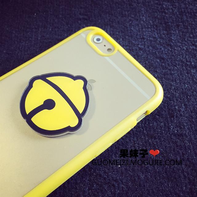 【原创可爱机器猫iphone6s苹果6plus硅胶透明手机壳