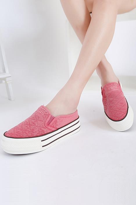 帆布鞋 服饰鞋包 纯香唯美女鞋店 蘑菇街优店图片