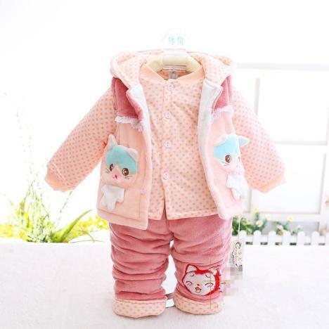 庚辰冬季新款棉衣韩版婴幼儿可爱