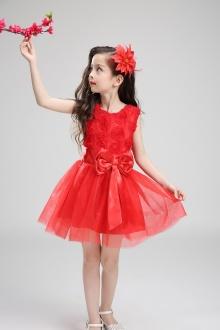 六一儿童节演出服公主裙蓬蓬裙幼儿园女童舞蹈服合唱表演服装夏季$