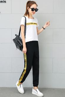 套头运动服套装女_2017春季新款套头运动服套