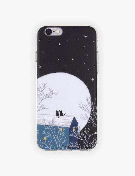【木与石原创手绘插画苹果手机软壳《晚安集》系列】