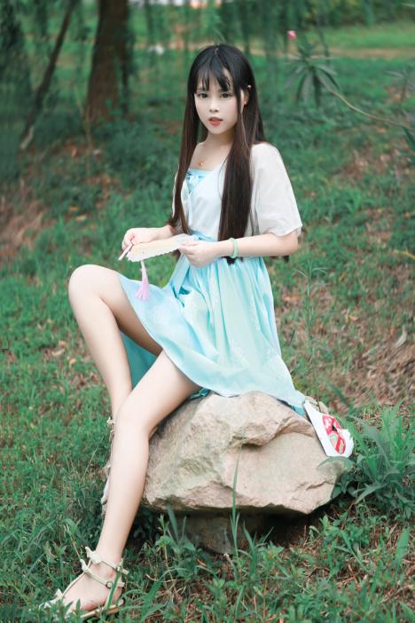 【如梦令汉元素古风连衣裙】-衣服-裙子