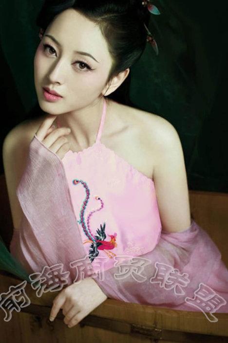 成人肚兜 女士性感内衣古装睡衣古典民族风刺绣抹胸肚兜套装