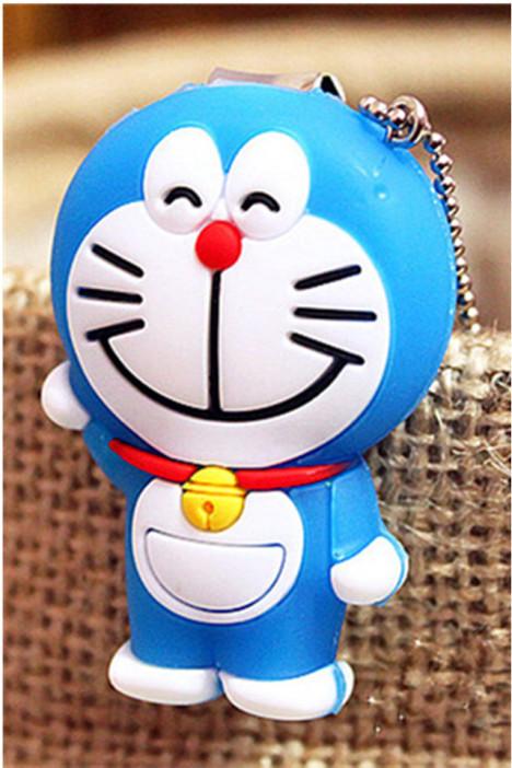 哆啦a梦 机器猫 叮当猫可爱卡通指甲刀 指甲剪 指甲钳挂件 -null 百货 图片