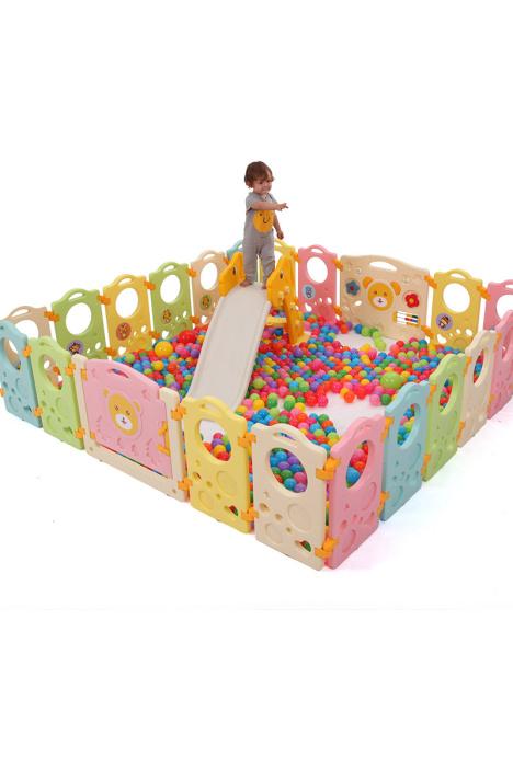 澳乐儿童围栏宝宝爬行垫护栏安全婴幼儿玩具塑料婴儿栅栏游戏围栏