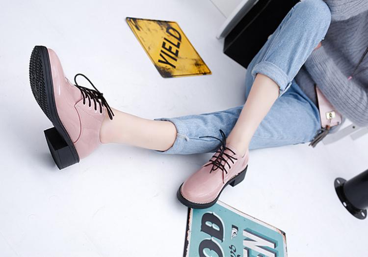 【【angle】英伦小清新纯色单鞋】-鞋子-女鞋