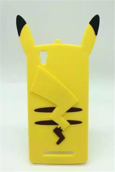 金立F103手机套新款卡通皮卡丘F103硅胶手机套 -配饰 3C数码配件 手