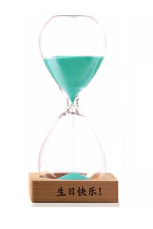 隔】免费刻字 创意时间沙漏计时器 酒柜书房欧式简约$35.9-时间准