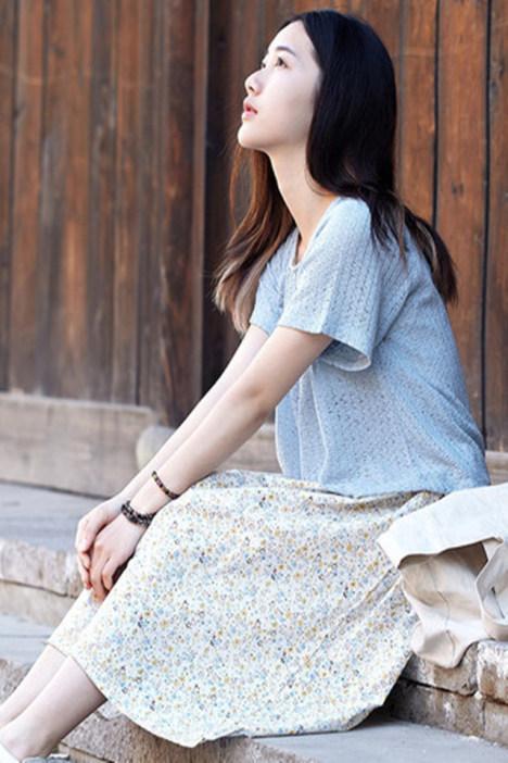 【日系森女清新小碎花森系吊带裙连衣裙】-衣服-裙子