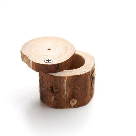 【未时自制小木桩首饰盒