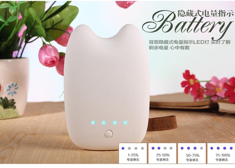 【龙猫可爱卡通表情充电宝20000毫安】-null-3c数码