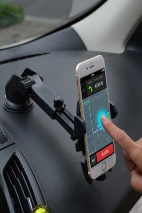 车载手机支架 汽车用吸盘支架 360度旋转 仪表台导航支架