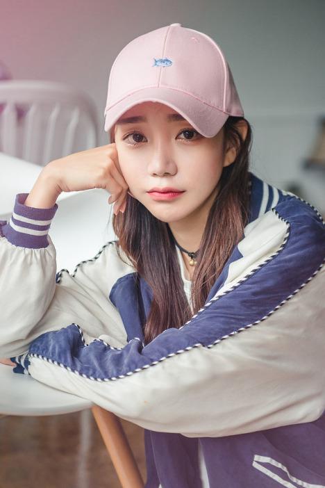 夏季韩国ulzzang原宿帽子女小鱼刺绣甜美可爱棒球帽潮情侣