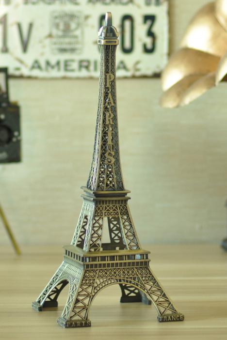 【巴黎铁塔金属 桌面装饰品】-null-摆件