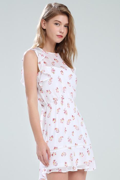 甜美,连衣裙,雪纺
