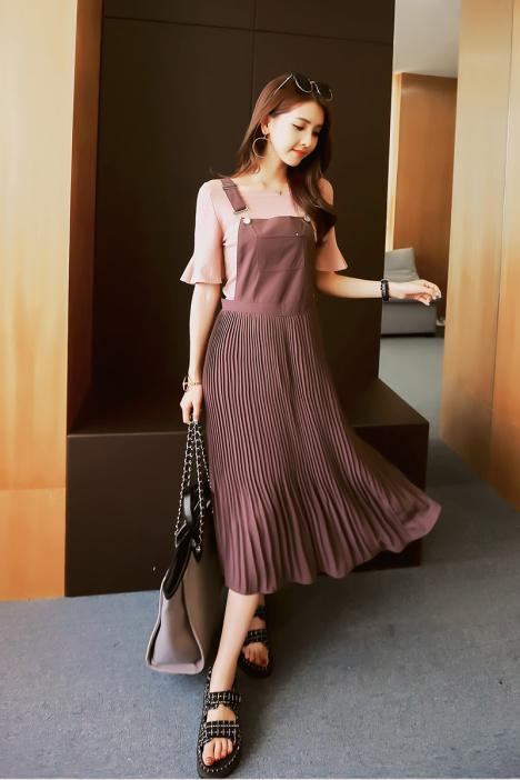 连衣裙,新款,韩版