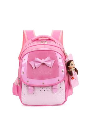 赠二》韩版儿童书包女童1-6年级小学生书包减负双肩包$69.3-一年