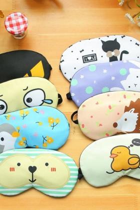 睡觉护眼罩可爱卡通