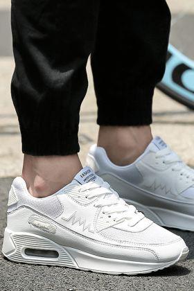 韩版气垫男运动鞋潮流搭配图片 韩版气垫男运动鞋潮流怎么搭配 韩版