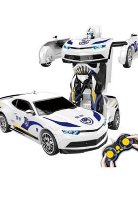 遥控汽车变形金刚玩具4大黄蜂变形遥控车玩具机器人