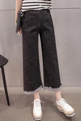 牛仔裤裤腿拉链搭配图片_牛仔裤裤腿拉链怎么
